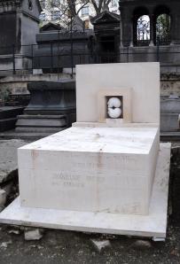 The grave of Victor Brauner, Montmartre Cemetery, Paris. Photo: Balázs Imre József